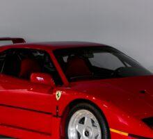 Ferrari F40 Front Three-Quarter Sticker