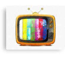 Television Pencil Canvas Print