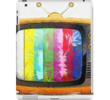 Television Pencil iPad Case/Skin