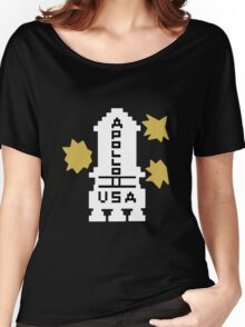 Hello Apollo 11 (The Shining) Danny Torrence Women's Relaxed Fit T-Shirt