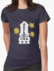 Hello Apollo 11 (The Shining) Danny Torrence Womens Fitted T-Shirt