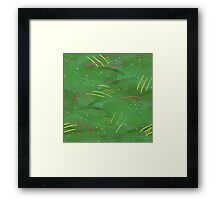 Painty jungle Framed Print