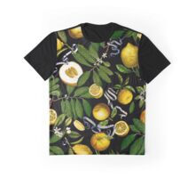 Lemon Tree - Black Graphic T-Shirt