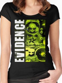aliens 1 Women's Fitted Scoop T-Shirt