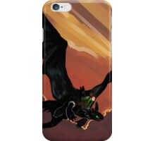 If You Were Flying--HTTYD Poster iPhone Case/Skin