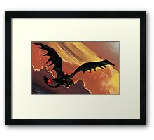 If You Were Flying--HTTYD Poster Framed Print