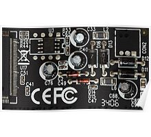 Circuits Pattern Poster