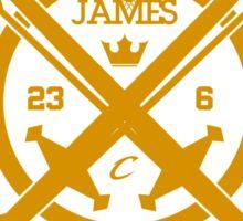 KING JAMES X CAVS Sticker