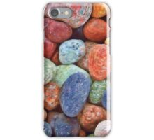 Colored Stones Pattern iPhone Case/Skin