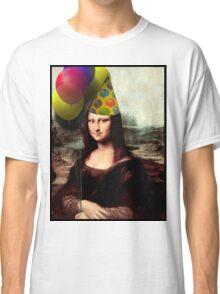 Mona Lisa Birthday  Classic T-Shirt