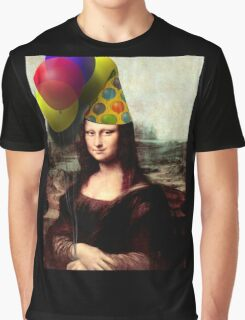 Mona Lisa Birthday  Graphic T-Shirt