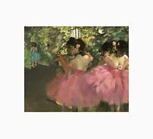 Edgar Degas - Dancers In Pink Unisex T-Shirt