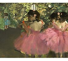 Edgar Degas - Dancers In Pink Photographic Print