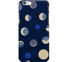 Moon phases. Crescent growth. iPhone Case/Skin
