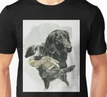 Flat-coated Retriever /Ghost Unisex T-Shirt
