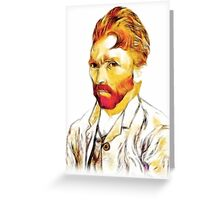Van Gogh Co-co Hair-do Greeting Card
