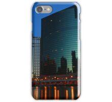 Evening at 333 Wacker Building iPhone Case/Skin