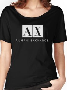 Armani Exchange - New Women's Relaxed Fit T-Shirt