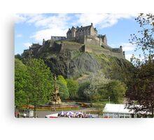 Edinburgh Castle 1 Canvas Print