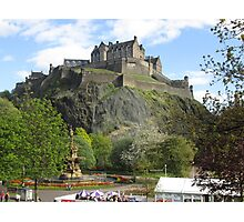 Edinburgh Castle 1 Photographic Print
