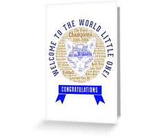 the foxes champion Greeting Card