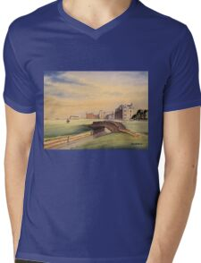 St Andrews Golf Course Scotland - 18th Fairway Mens V-Neck T-Shirt