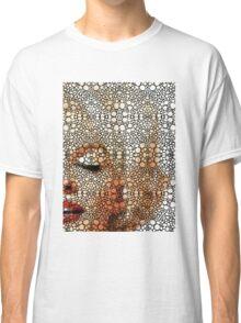 Marilyn Monroe - Sigh - Stone Rock'd Art By Sharon Cummings Classic T-Shirt