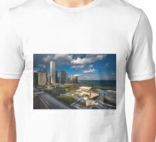 Chicago Rooftop View Unisex T-Shirt