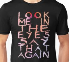 Placebo Begin the End - for dark backgrounds Unisex T-Shirt