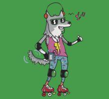 MAXIMUM COOL WOLF: JUST WOLF Kids Tee