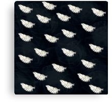 Goose feather Canvas Print