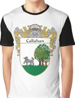 Callahan Coat of Arms/Family Crest Graphic T-Shirt