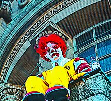 Suicidal clown! by TimConstable
