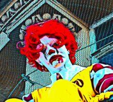 Suicidal clown! Sticker