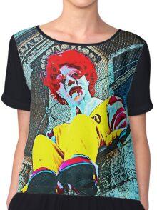 Suicidal clown! Chiffon Top