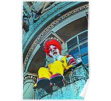 Suicidal clown! Poster