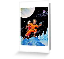 FROZEN WORLD Greeting Card