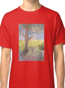 Wind in Old Branches (mosaic) Classic T-Shirt