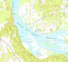USGS TOPO Map Alabama AL Camden North 303396 1974 24000 Sticker