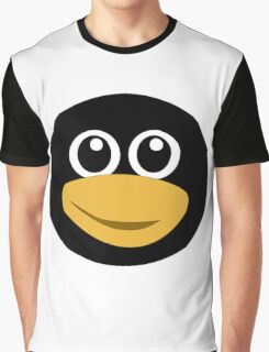 Funny tux face Graphic T-Shirt
