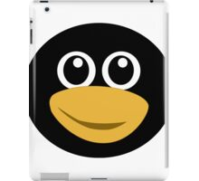 Funny tux face iPad Case/Skin