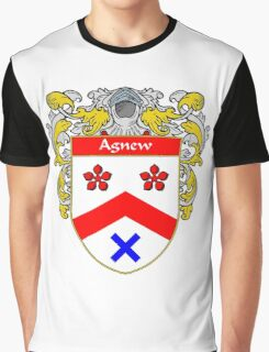 Agnew Coat of Arms/Family Crest Graphic T-Shirt