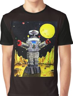 B-9 ROBOT LOST IN SPACE Graphic T-Shirt