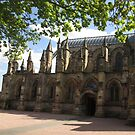 Rosslyn Chapel, Roslin, Scotland (Front Elevation) by MagsWilliamson