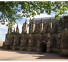 Rosslyn Chapel, Roslin, Scotland (Front Elevation) Photographic Print