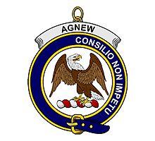 Agnew Clan Badge Photographic Print