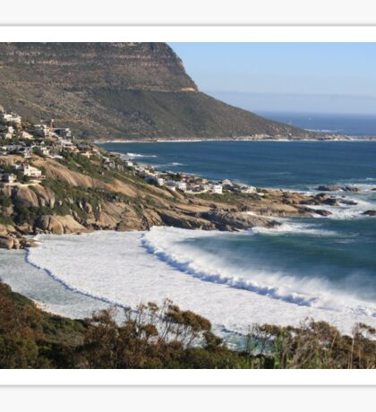 Beautiful Cape Town view Sticker