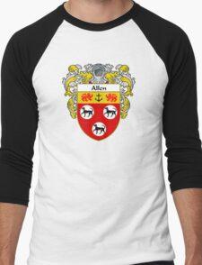 Allen Coat of Arms/Family Crest Men's Baseball ¾ T-Shirt
