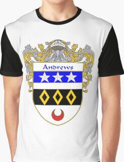 Andrews Coat of Arms/Family Crest Graphic T-Shirt
