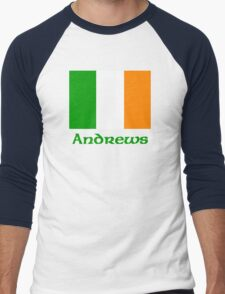 Andrews Irish Flag Men's Baseball ¾ T-Shirt